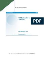 ibm biginsights for data scientists