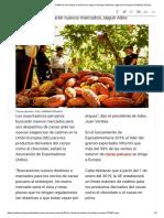 Cacao Peruano_ Más Del 50% de Las Ventas Al Exterior Se Dirige a Europa _ Noticias _ Agencia Peruana de Noticias Andina