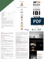 Bases Concurso de Fotografico 12 Horas en La Villa de Ibi 2018