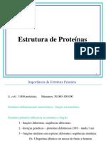 Aula 7 EstruturaProteinas