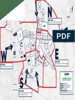2019 Penn State Stadium Parking Map Cardinal