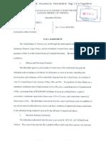 Damaso Lopez Nunez Sinaloa Cartel Plea Agreement September 2018