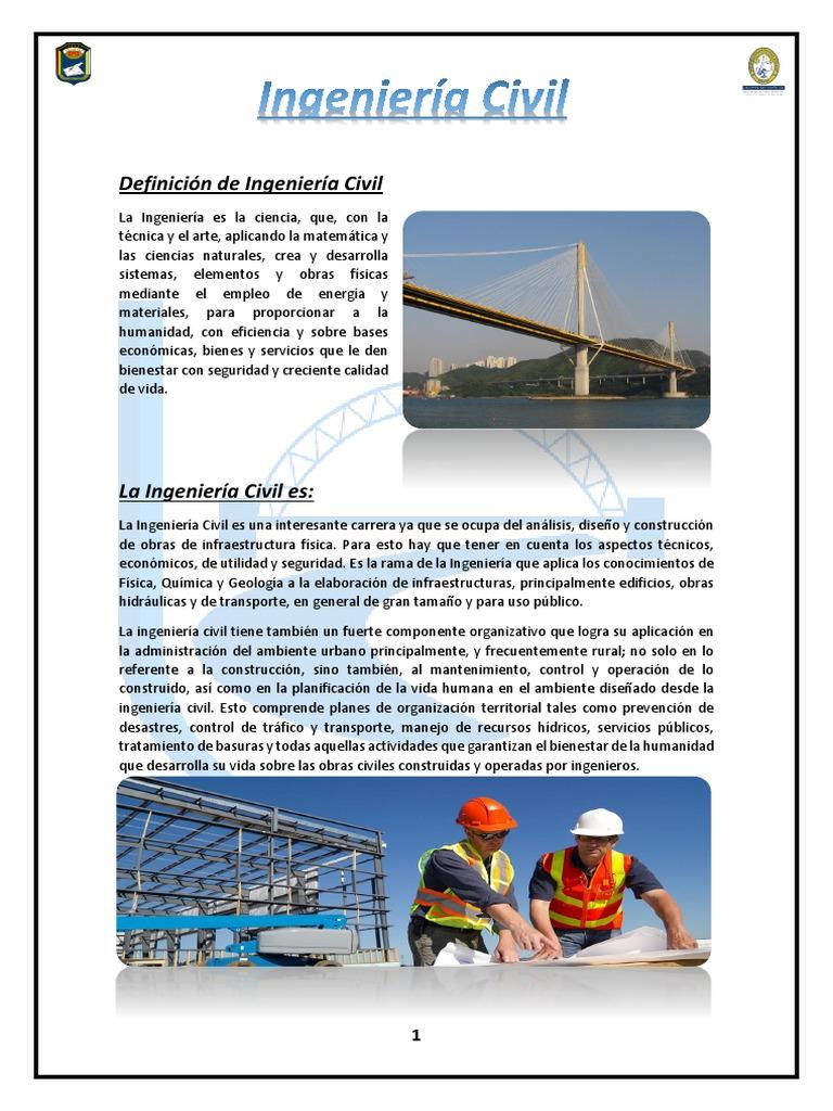 Ingenieria Civil Ingeniería Civil Ingeniería