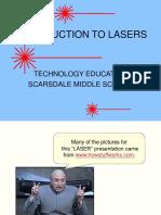 Application of laser technalogyLaser Presentation (2)