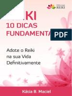 E-book - 10 Dicas Fundamentais de Reiki para Melhorar Sua Vida - Kátia Maciel