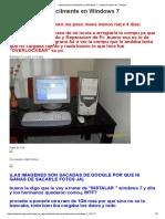 Instala Drivers Facilmente en Windows 7