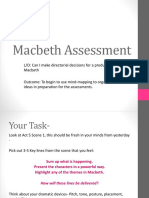 Macbeth Assessment
