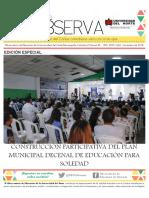 Construcción participativa del Plan Municipal Decenal de Educación para Soledad