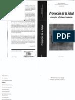 Czeresnia y Machado. Promoción de La Salud. Conceptos, Reflexiones, Tendencias.