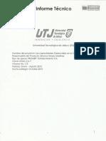 Informe T�cnico UTJALCA7