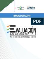 Evaluación de Desempeño 2017