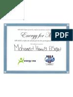 SPE Certificate