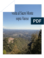 Quaderno_1 Sacro Monte Varese