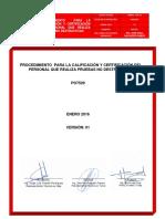 Po7529 Calificacion Del Personal