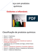 Segurança Com Produtos Químicos-oxidantes e Inflamáveis
