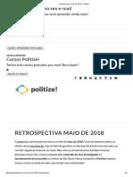 ATUALIDADE - MAIO DE 2018