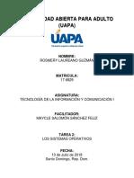 Informatica Tarea 2 - UAPA