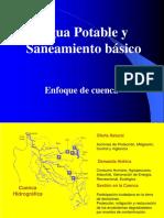 AguaPotableEnfoque de Cuenca