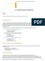 How to Setup Our Own Private Docker Registry_ - CodeProject