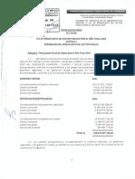 Texto Legal Ley de Presupuesto