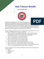 Vet State Benefits - FL 2018