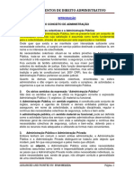 DIREITO ADMINISTRATIVO. Apontamentos.pdf