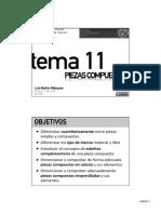 Tema 11 - Piezas Compuestas