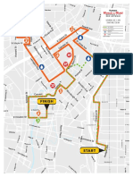Rock N Roll Marathon 5K-10K Course Map