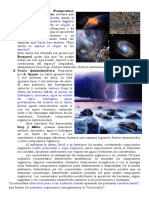 Teoria Cosmogonica y Quimio