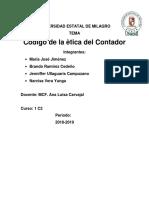 Codigo de Etica Del Contador m