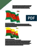 Primera Bandera de Bolivia