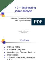 Chapter 9 - Economic Analysis