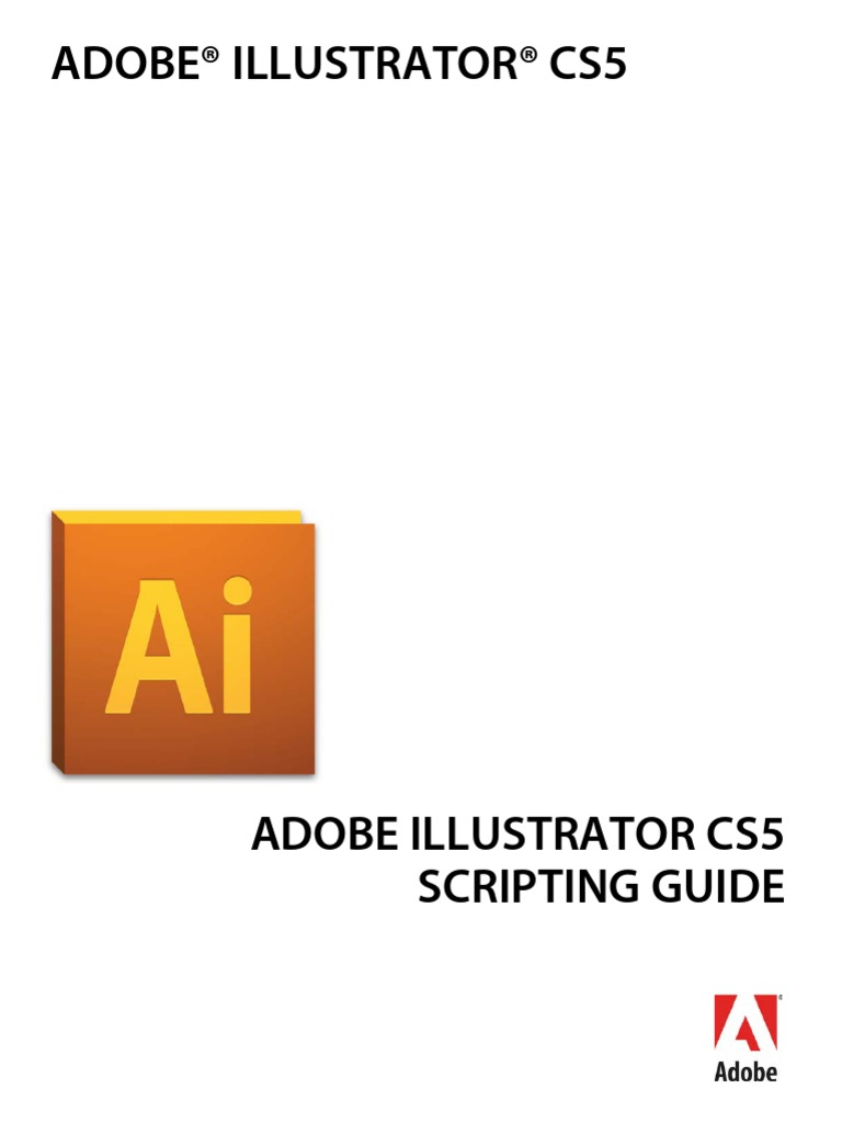 illustrator scripting guide cs5 adobe creative suite scripting rh scribd com adobe illustrator cs6 scripting guide adobe illustrator cs6 scripting reference javascript