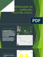 Accidentalidad via Cali – Candelaria (Valle Del