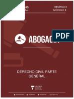 Modulo 8 Derecho Civil Parte General