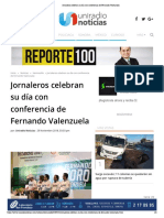 29-11-18 - UNIRADIO - Jornaleros celebran su día con conferencia de Fernando Valenzuela