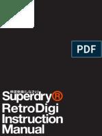 Retro Digi Instruction Manual