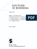 Rare Earths Structure and Bonding Vol 22