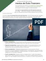» Los 10 Mandamientos Del Éxito Financierocontafinanzas