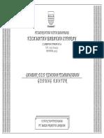 Gambar Teknis gedung kantor desa.pdf