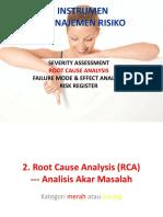 5. Root Cause Analysis (RCA)