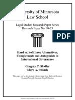 2010 Hard vs Soft Law.pdf