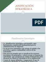 Clase 6 planificación estrategica