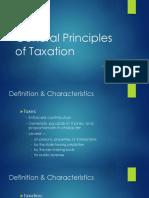 Ateneo Tax'18 GenPrin