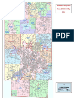 2015 Summit County Council Map