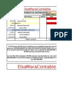 Comprobantes de Contabilidad 002_003 y 004 Año 1