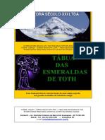 Tábua Das Esmeraldas de Toth