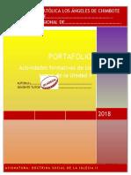 Portafolio II Unidad - DSI II 2018-2