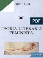 Teoría Literaria Feminista