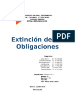 Los Medios de Extinción de Las Obligaciones